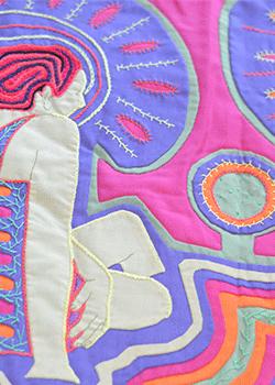 """Inspiración textil """"Mañanitas"""""""