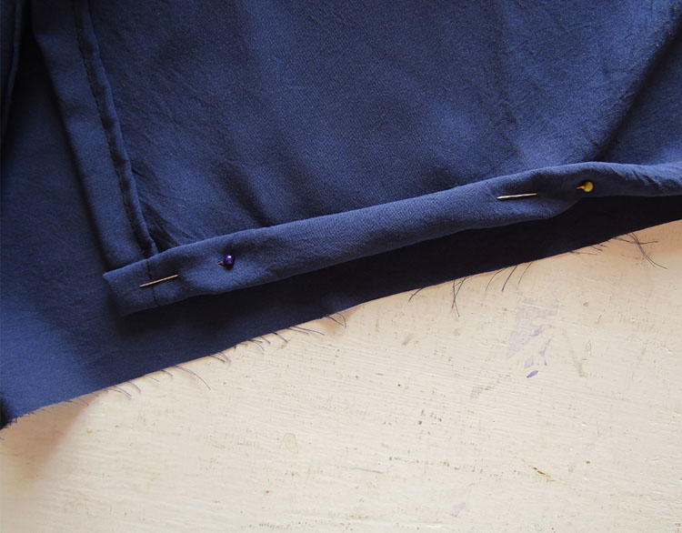 Blusa boho bordada paso 9
