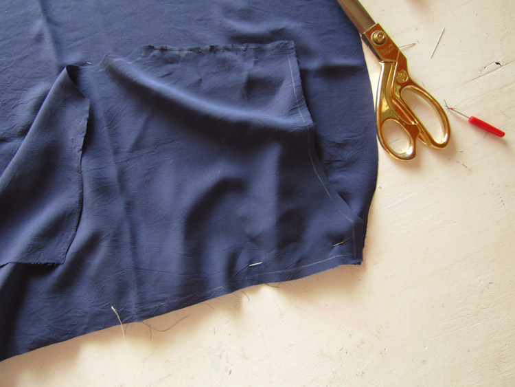 Blusa boho bordada paso 3