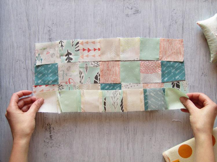 Técnica patchwork paso 6