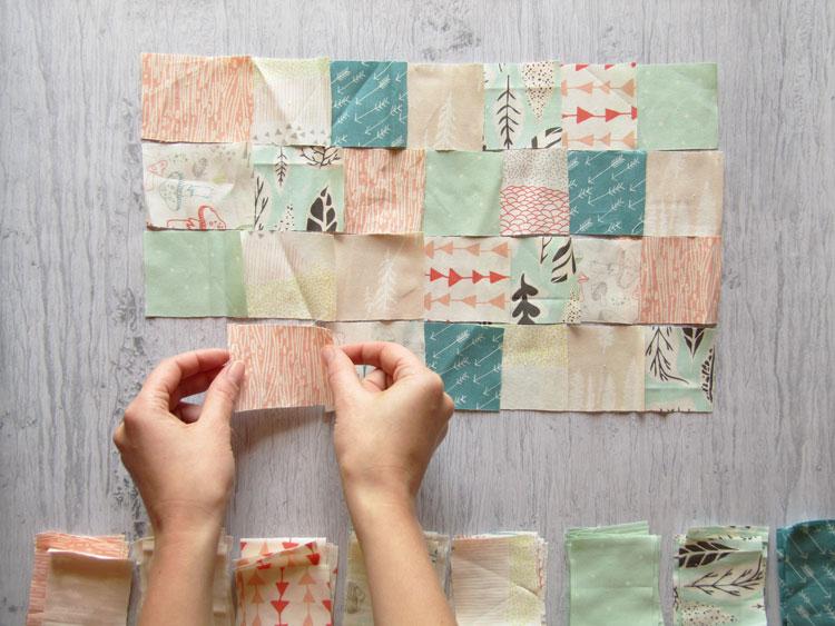 Técnica patchwork paso 3
