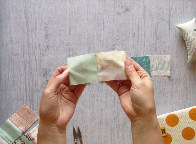Técnica patchwork paso 4
