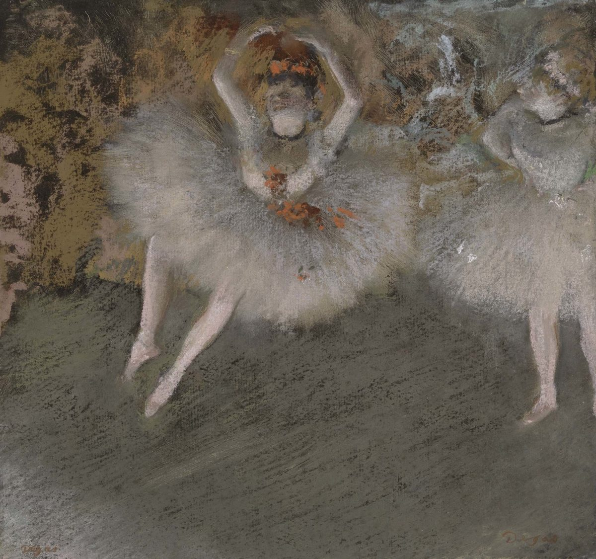 Hilaire-Germain-Edgar Degas. Pas battu. 1879