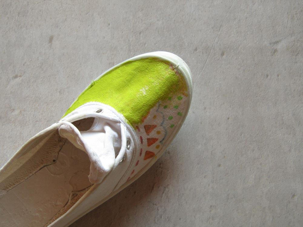 Personalizar zapatillas paso 2