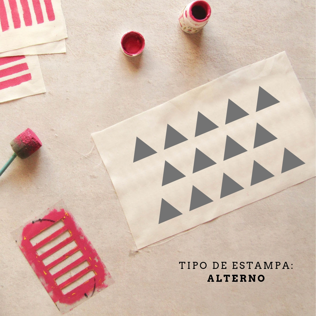 Diseño de estampado: alterno