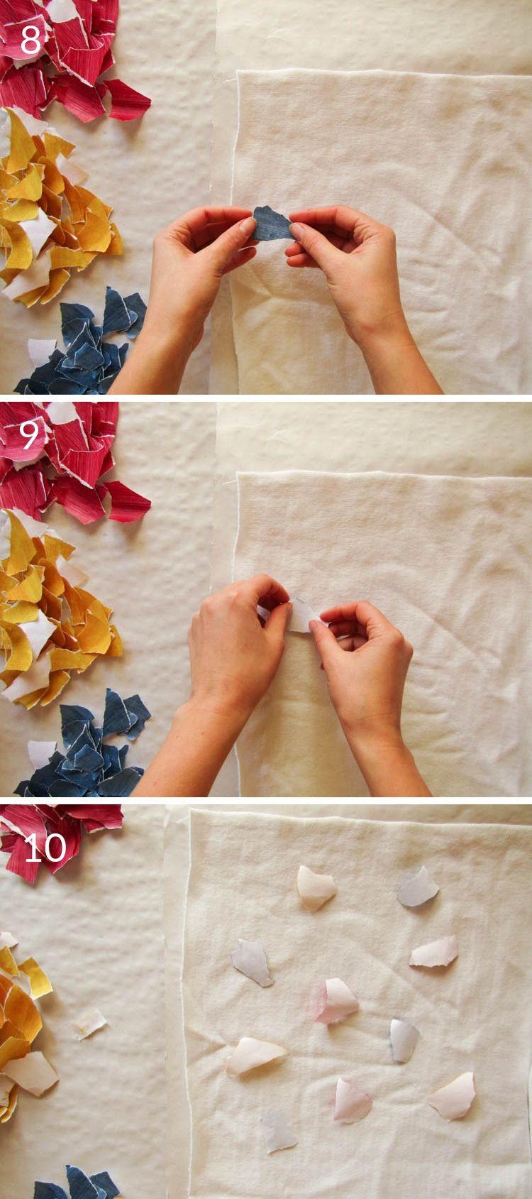 Pasos 8,9 y 10 estampar con sublimación