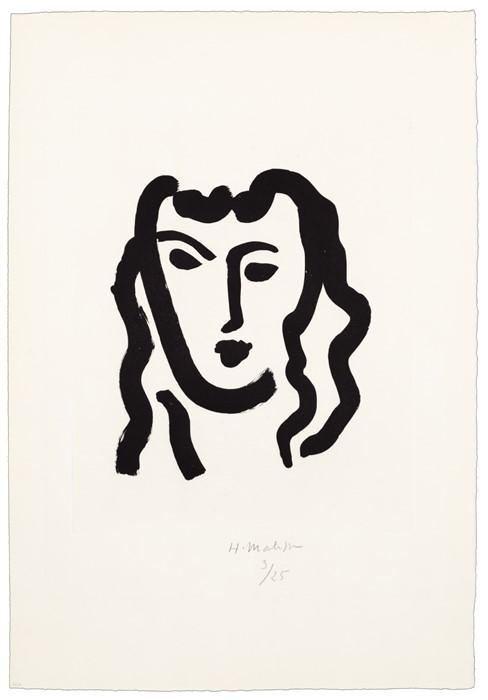 Inspiración arte lineal (Matisse)