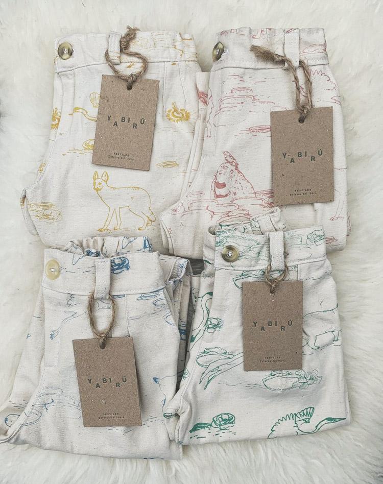 Textiles diseñados por Dani (La foto pertenece a soy.danli)
