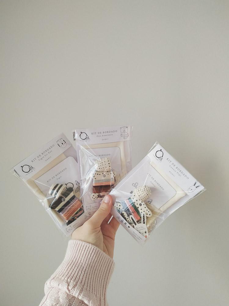 Kits de bordado que son un amor (La foto pertenece a soy.danli)