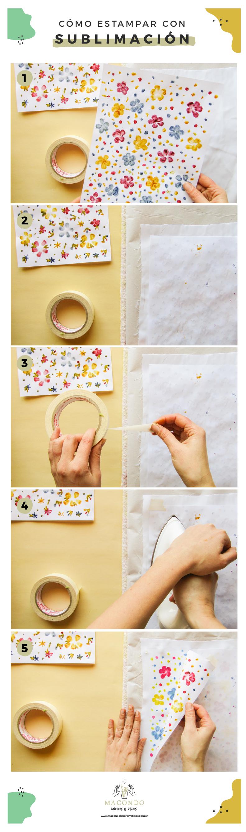 Cómo estampar telas de poliester (estampado)