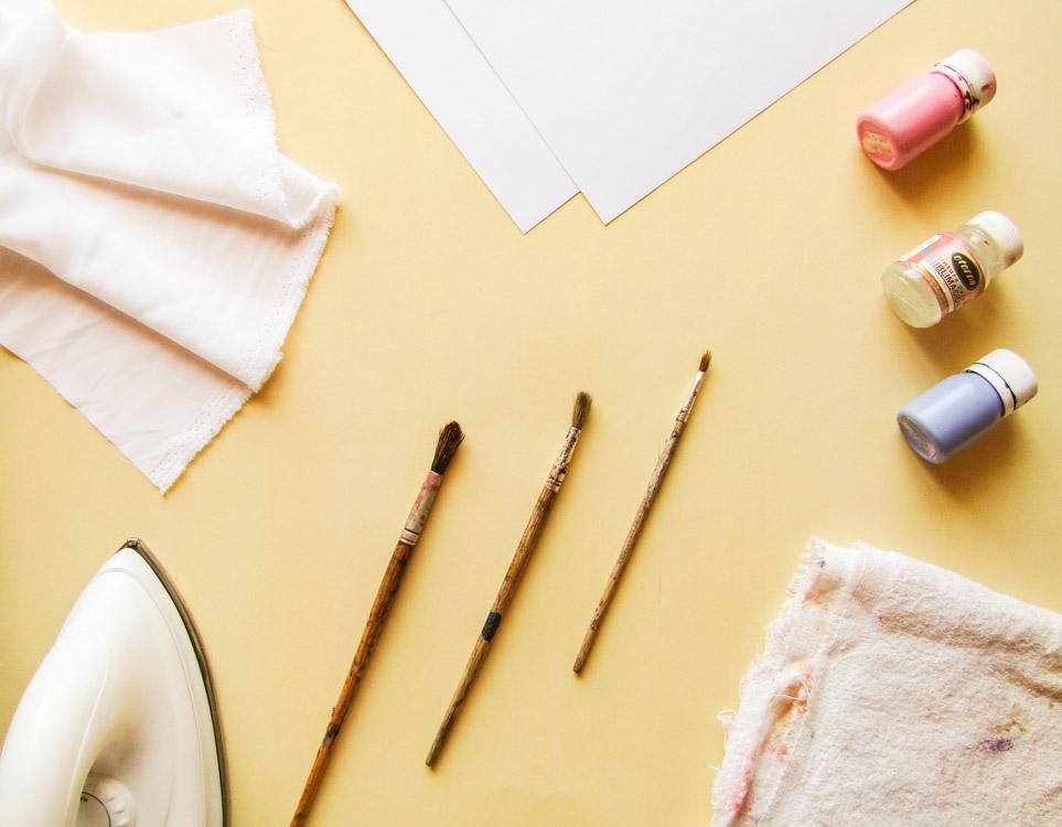 Materiales necesarios para estampar telas de poliester