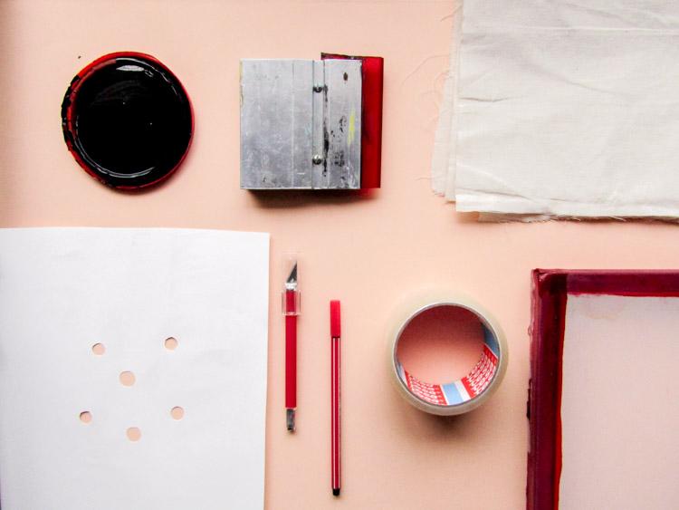Cómo preparar el bastidor para serigrafía - Materiales