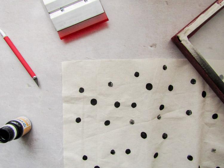 Cómo estampar con serigrafía - Paso a paso