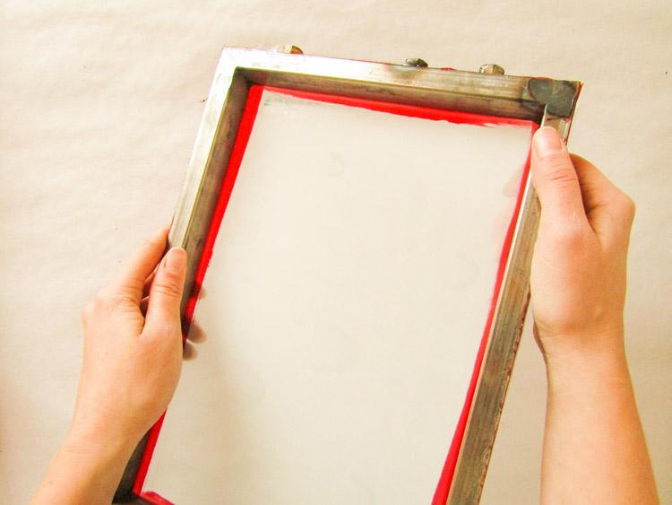 Elementos y materiales para estampar con serigrafía - Shablón