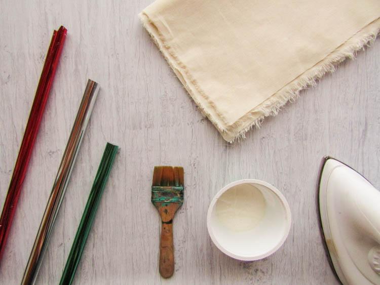 Como aplicar foil - materiales necesarios