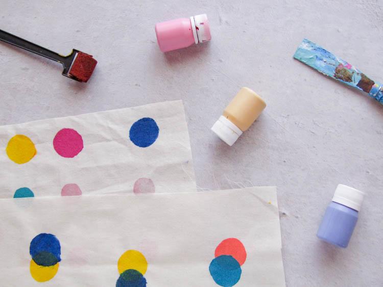 Pinturas para estampar tela