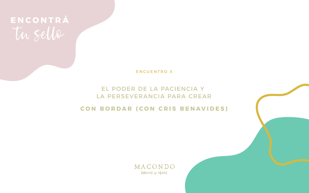 Cristina Benavides - Bordar