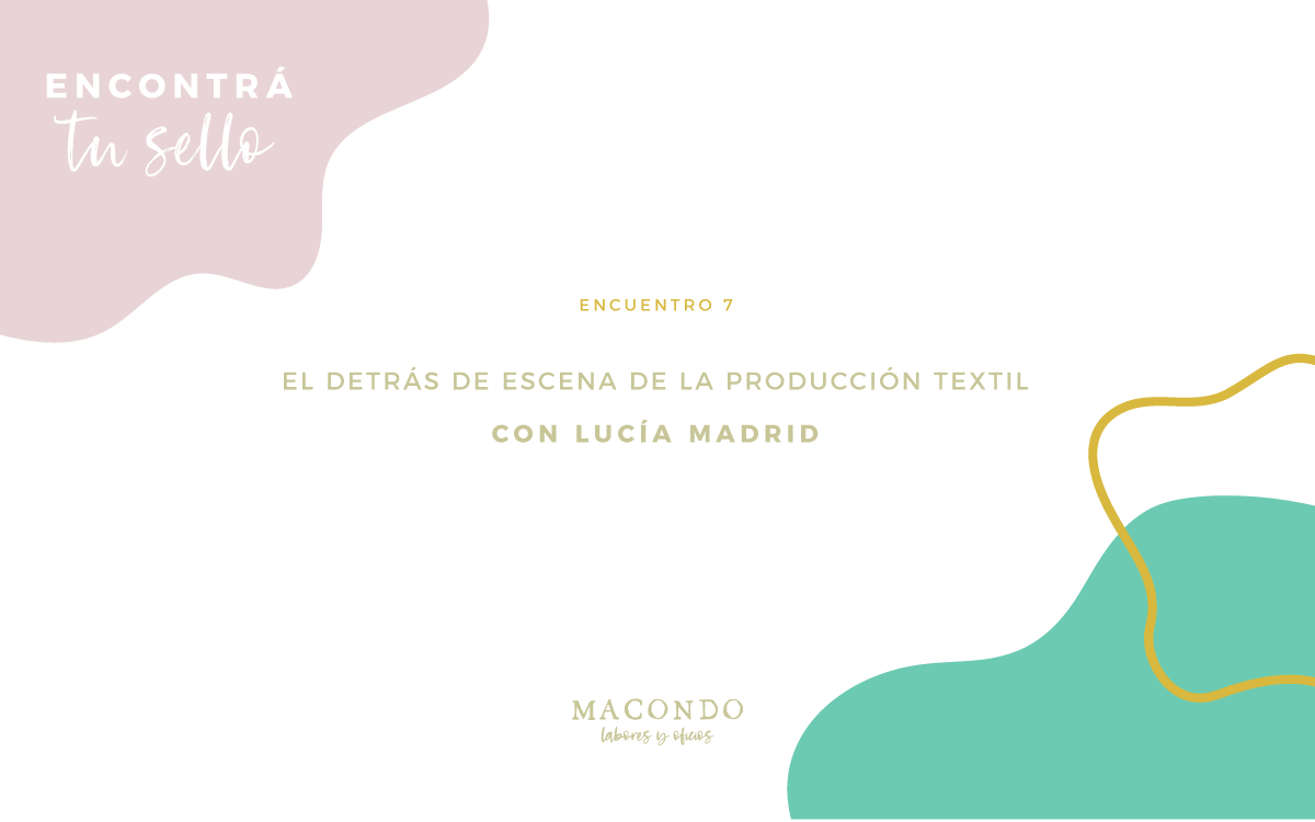 Encontrá tu sello: Lucía Madrid